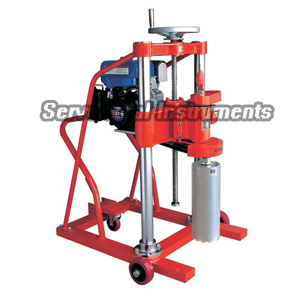 HZ-20 gasoline motor core drilling machine