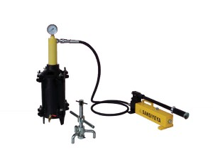 pressure weepage tester for concrete