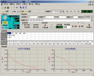 Consolidation test DAQ interface