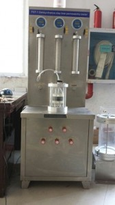 geosynthetics clay liner permeability tester copy(ASTM D5887)