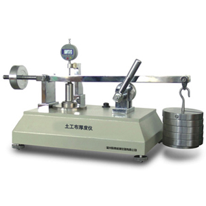 geotextiles thickness tester