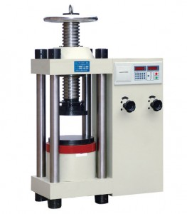 2000kn hydraulic concrete compression testing machine