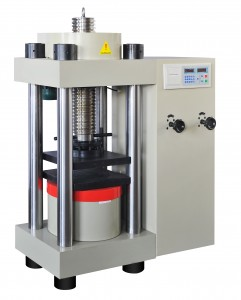 automatic screw hydraulic compression testing machine