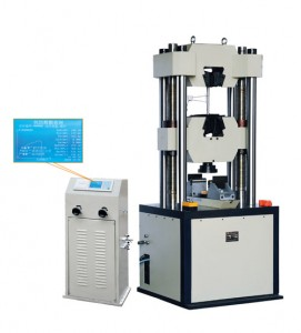 digital display hydraulic universal testing machine