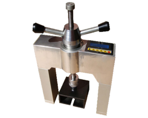Rivet and heat-insulation material bonding strength tester