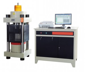 2000kN servo control compression testing machine