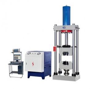 servo controlled tensile testing machine