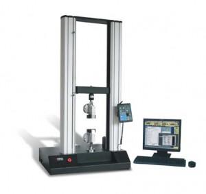 Electric fiber strength testing machine