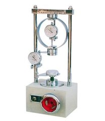Electric unconfined compressive tester