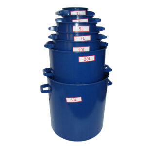 bulk density bucket for construction material