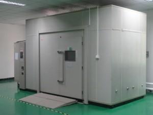 walk in environmental testing chamber
