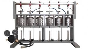 6 gang middle pressure filter press