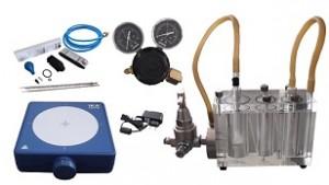 Sulfide content tester drilling fluids instrument
