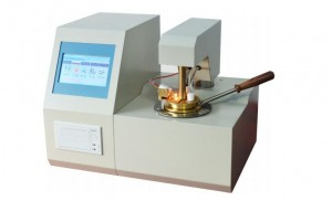 Pensky-Martens closed cup flash point tester